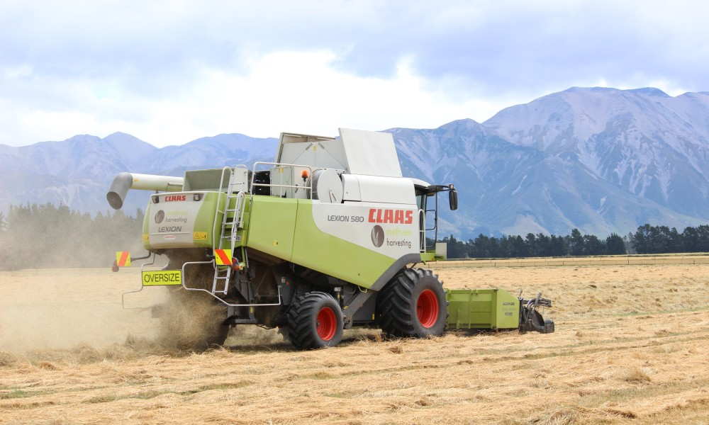Methven Harvesting - Contract Harvesting, Ashburton District (1)