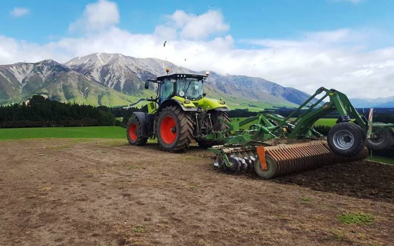 6m Amazone Catros Disc Roller - Chris Woods Contracting